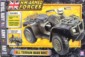 Royal Marines HMAF All Terrain Quad Bike