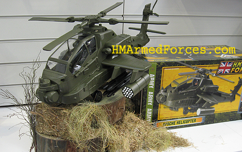 HM Armed Forces Apache Helicopter