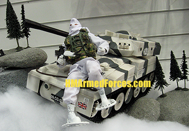 HMAF Arctic Mission Tactical Battle Tank