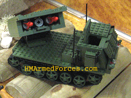 HM Armed Forces Army Royal Artillery Mega Set - MLRS Tracked Vehicle