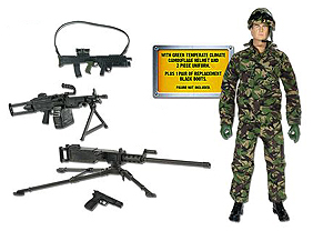 Army Weapons Set