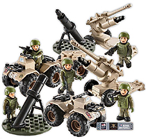 HM Armed Forces Army Mortar and Artillary Set