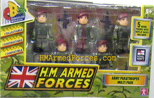 HM Armed Forces Army Paratrooper Multipack