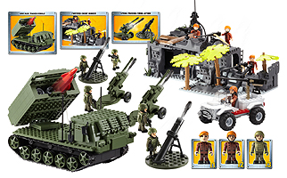 HM Armed Forces Army Infantry and Artillery Mega Set