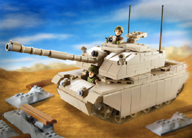HM Armed Forces Army Challenger Tank Set