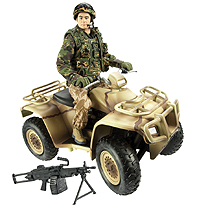 Royal Marines Commando Desert Raiding Party Set