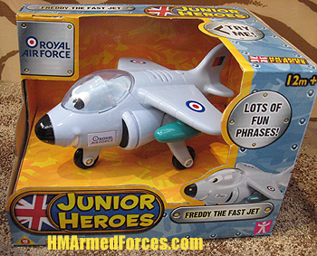 Junior Heroes Freddy the Fast Jet