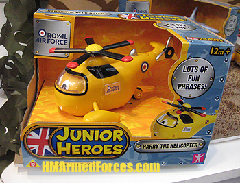 Junior Heroes Harry the Helicopter