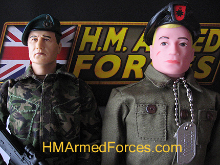 Characters HMAF Royal Marine Vs Hasbros Action Man
