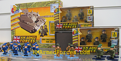 Army Challenger II Tank Set & Micro-Figure Multi Packs