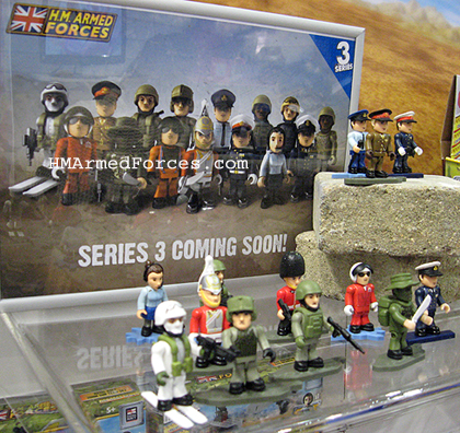 HM Armed Forces Series 3 Micro Figures