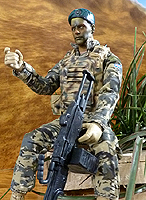 HM Armed Forces Royal Marines Commando Stealth Operations Figure