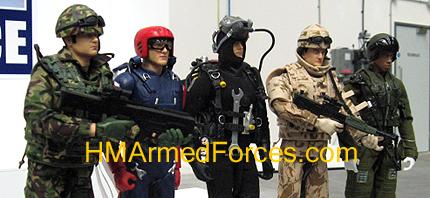 Commando, Falcon, Diver, Infantryman & Fast Jet Pilot