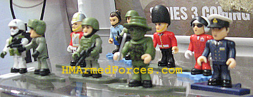 HM Armed Forces Micro Figures Series 3