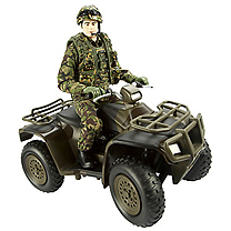 Royal Marines HMAF Jungle Quad Bike