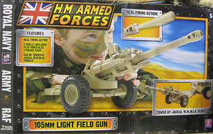 HMAF Light Field Gun 105mm