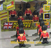 HM Armed Forces Queens Guards Set