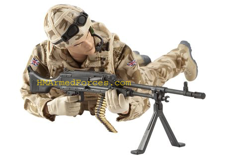 HMAF RAF Regiment Gunner Figure
