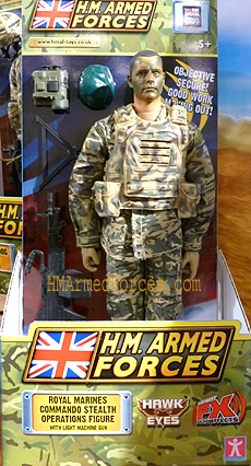 Royal Marines Commando Stealth Operations Figure