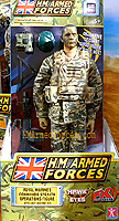 HM Armed Forces Royal Marines Commando Stealth Operations Figure - 2013 Revised Packaging