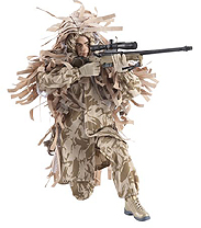 Royal Marines Commando Sniper