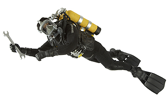 HM Armed Forces Royal Navy Diver