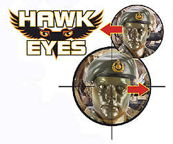 HM Armed Forces Royal Marines Talking Hawk Eyes Commando